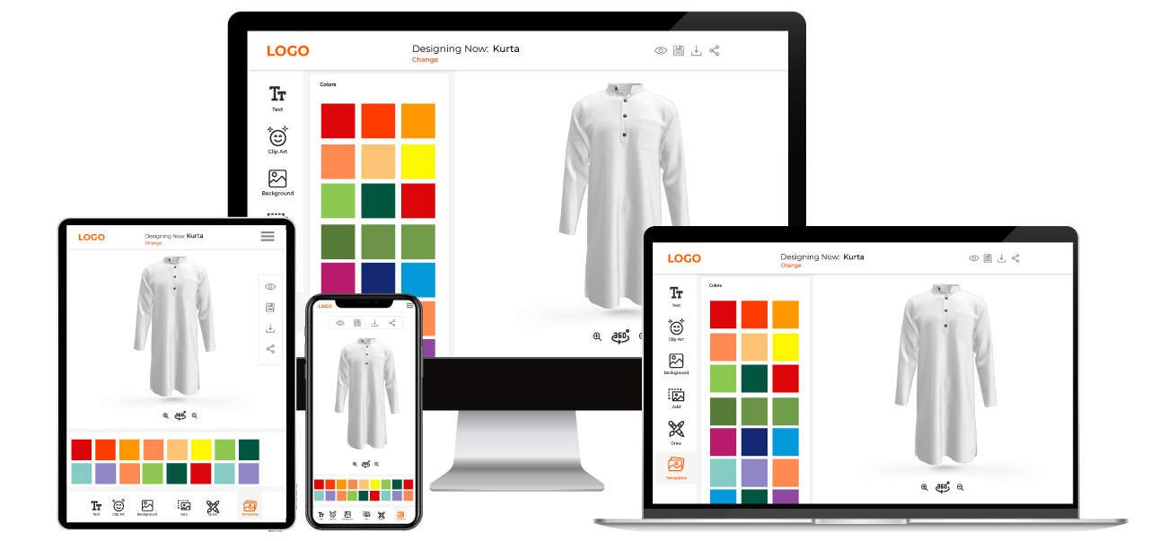 Men Kurta Customization Software