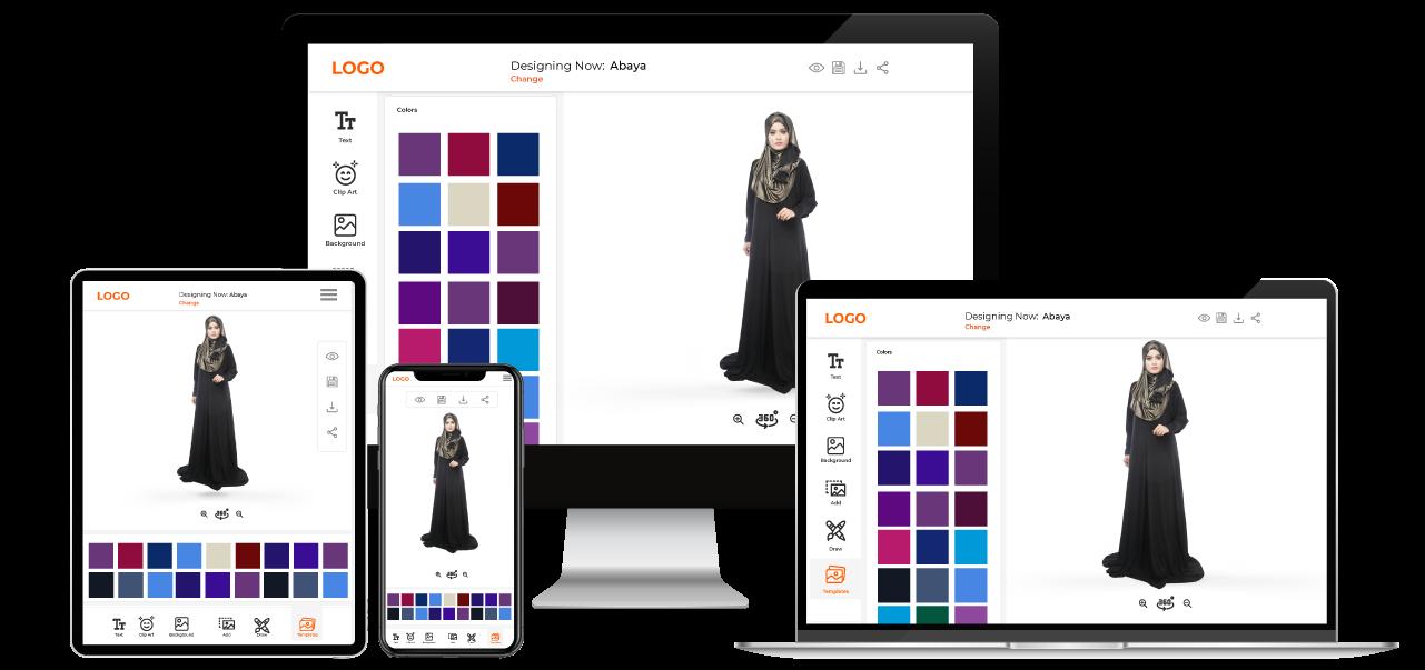 Abaya Customization Software