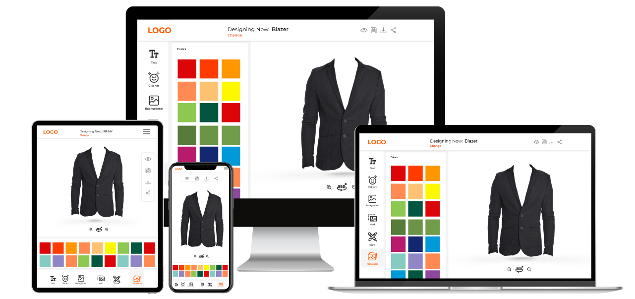 Blazer Customization Software