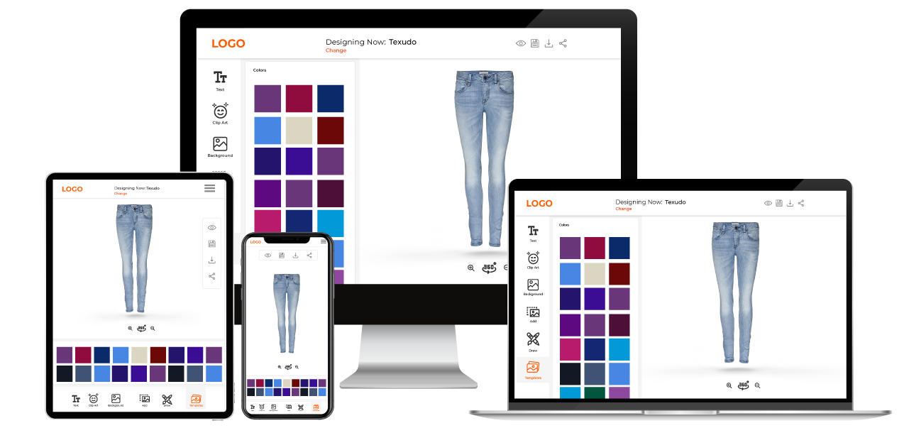 Jeans Customization Software