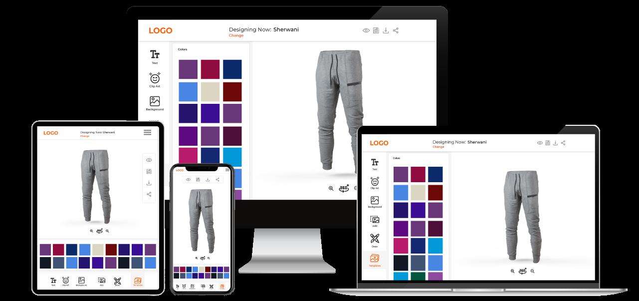 Pant Customization Software