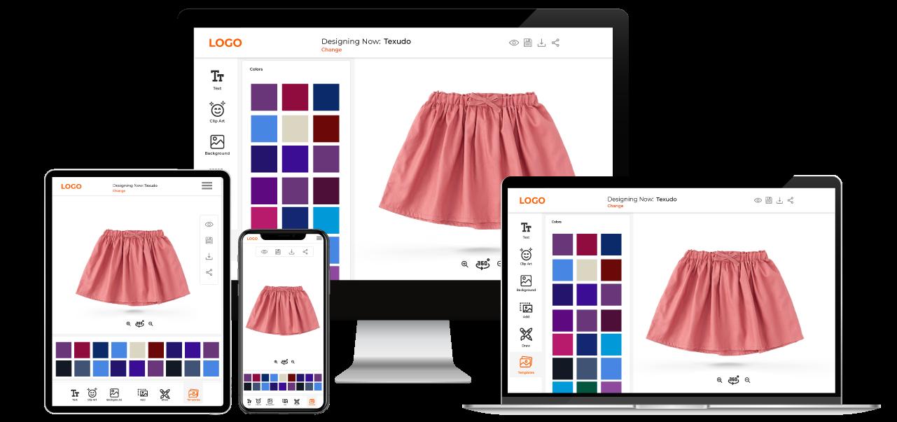Skirt Customization Software