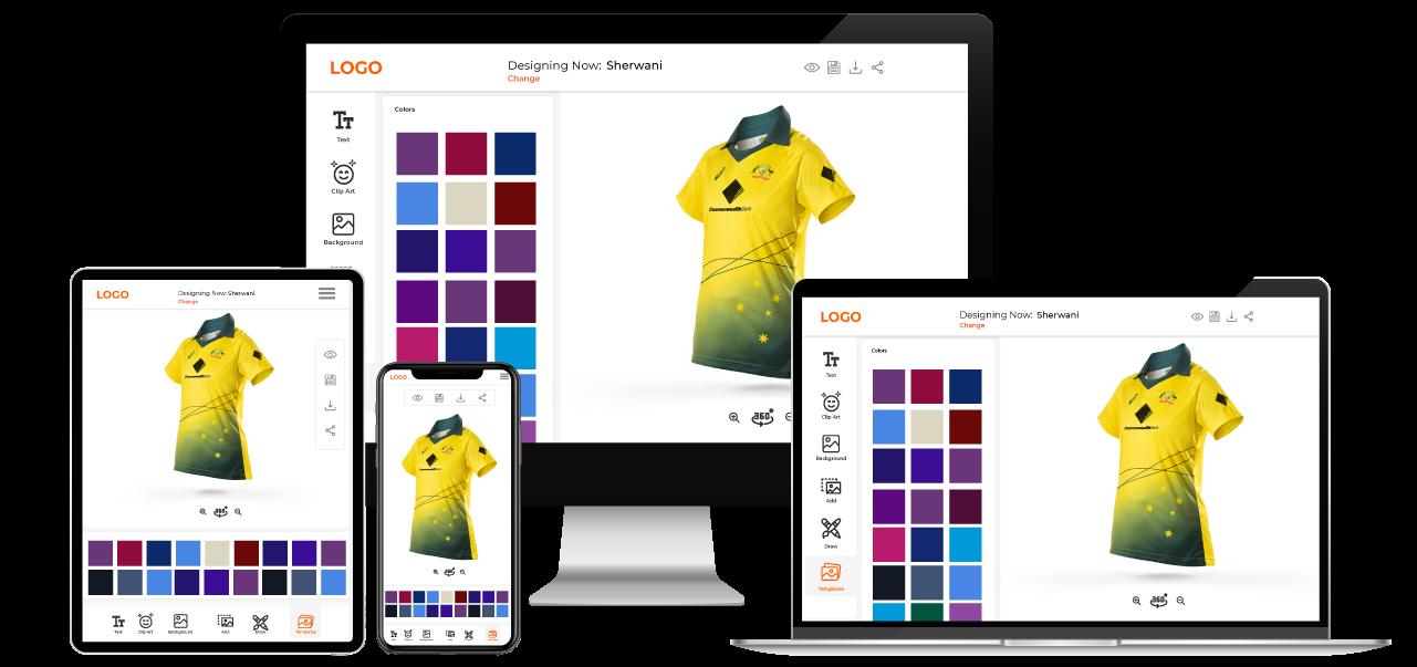Sportswear customization Software