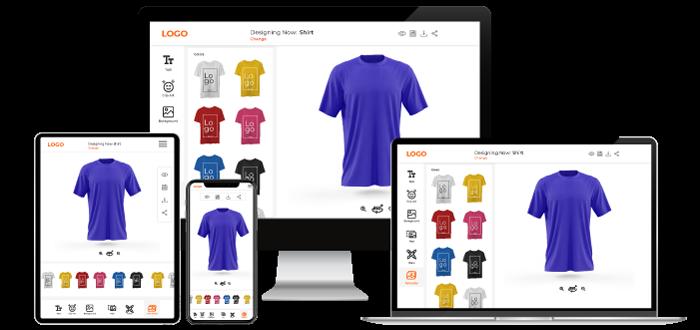 T-Shirt customization Software