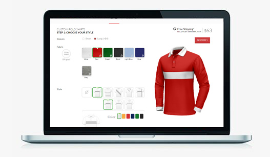 An Innovative Solution for custom Tailors with Shirt and suit Customization Tool to Interact Online Customers