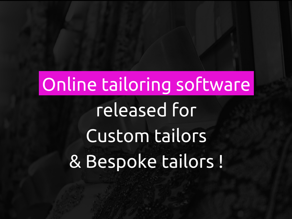 The Best Way To Run Successful Online Custom Tailoring Business