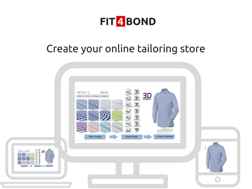 How to create your tailoring business website at software layer?