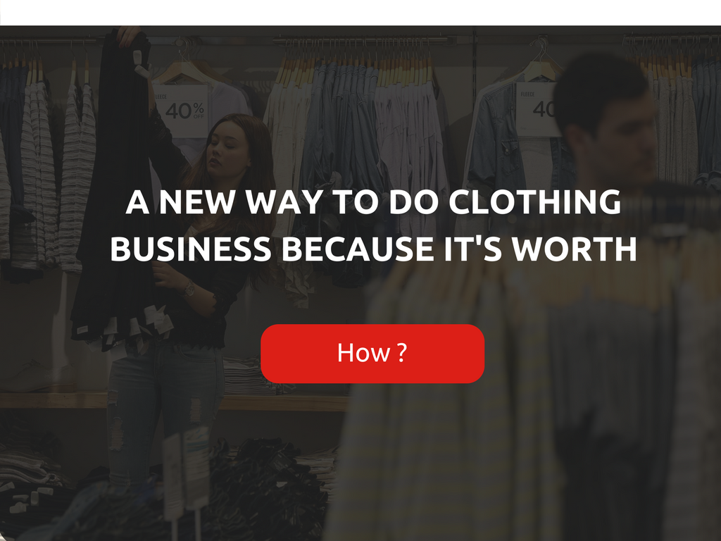 Create clothes customization store with ready to marketing solutions