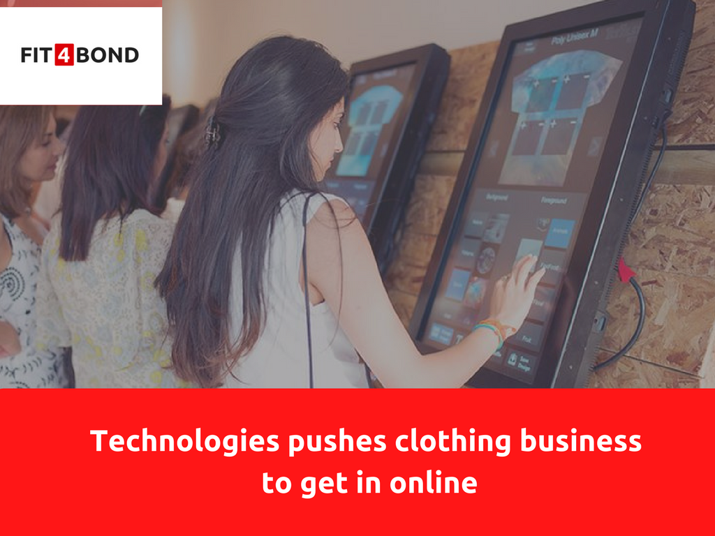 How technology supports for the clothing business network ?