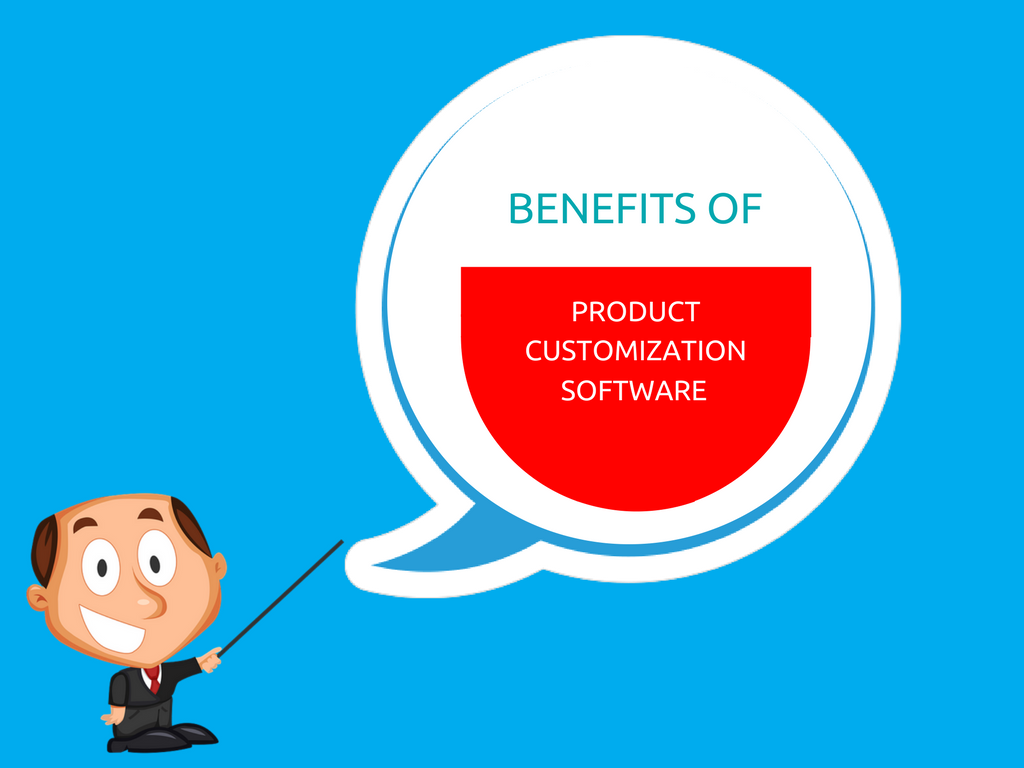 What would be benefits of product customization software for online custom tailors?
