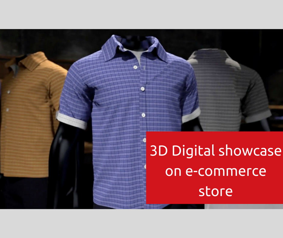 3D Visualization is now available for clothing business store