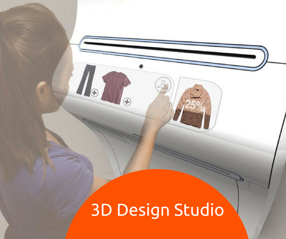 Fit4bond™ software introduces 3D Design studio for fashion ecommerce business !