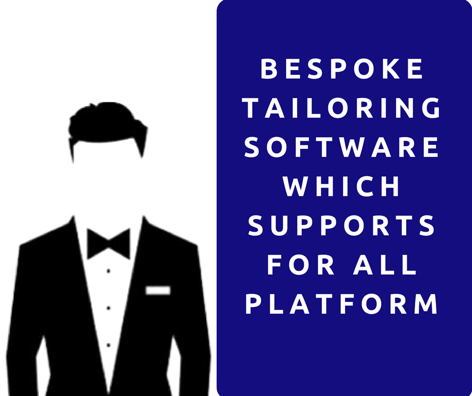 The best bespoke tailoring software for starting online business - Fit4bondTM