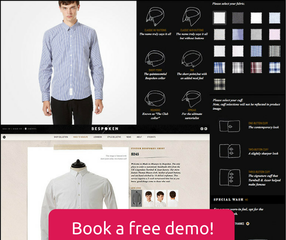 How clothes customization software works for your online tailoring store ?