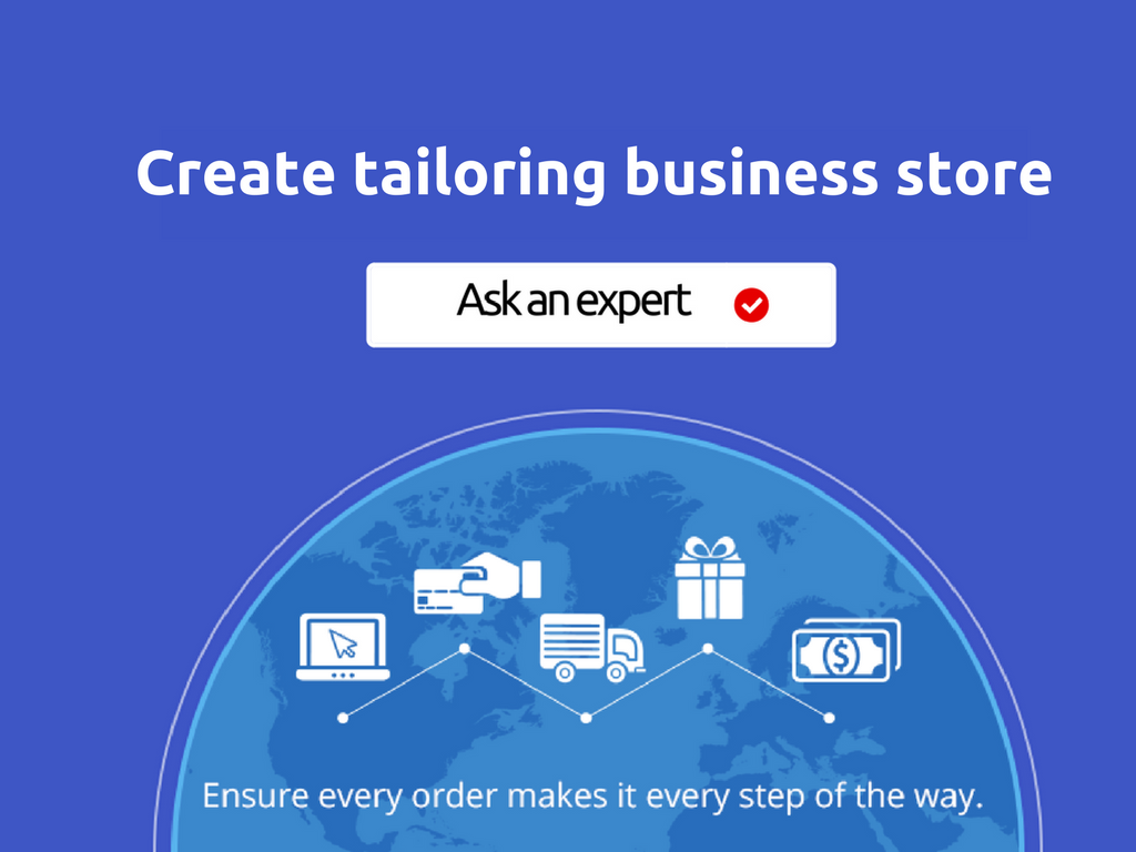 You can create successful online store for tailoring business that gives ultimate hit