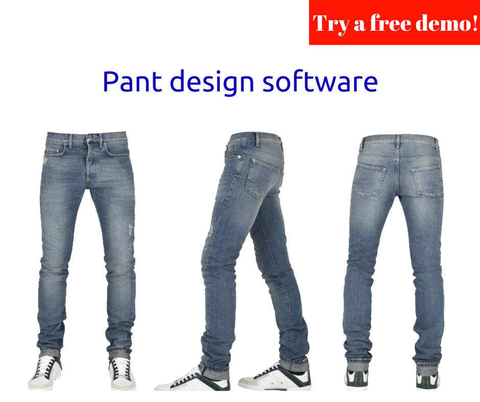 How pant design software actually works for clothing business?