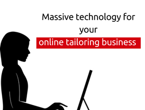 Launch an online tailoring business website with the trendy script features