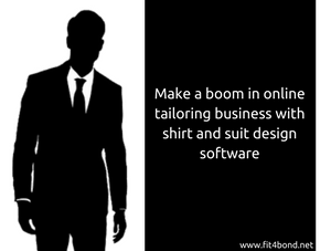 How to start an online tailoring business with shirt and suit design software?