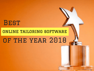 Most Awarded online tailoring business software of the year 2018