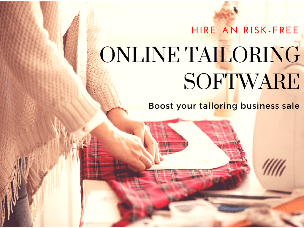 Risk-free ideas to grow online tailoring business