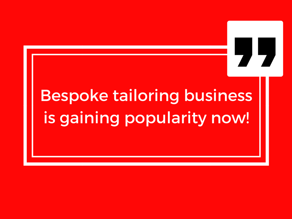 The Secret Guide for Bespoke Tailoring Business Success!!!